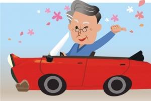 """[커버스토리] """"황혼연애 필수품"""" 차에 꽂힌 '꽃할배'"""