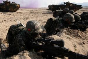 해군·해병대, 전시 北피난민 수용 첫 훈련