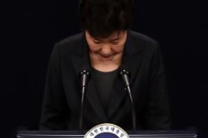 """朴대통령 """"檢·특검 수사 받겠다"""" 野 """"2선 후퇴하라"""""""