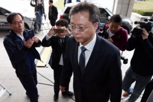 [서울포토] 검사에서 피고발인으로... 우병우 검찰 소환