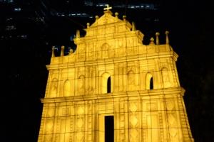 형형색색 빛나는 밤… '성 바울 성당' 구경오세요