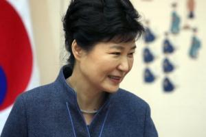 [서울포토] 박근혜 대통령, 신임 정무직 임명장 수여식 참석