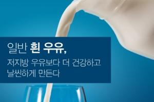 """캐나다 미카엘병원 연구팀 """"일반 우유, 저지방 우유보다 다이어트에 더 도움"""""""