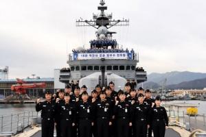 해군 '포술 최우수 전투함'에 양만춘함