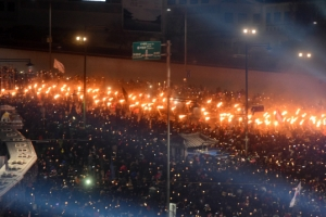 연행자 '0'명...232만명이 평화 집회