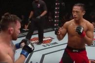 [하이라이트] 김동현, UFC 무대 첫 승전보…심판 전원…
