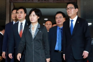 """朴대통령 탄핵안 가결…민주당 """"새로운 대한민국 거듭나는 전환점"""""""
