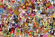 [그림퍼즐] 디즈니의 공주 6명은 어디에?