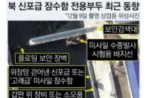 """""""北, SLBM 탑재 가능 잠수함 훈련"""""""