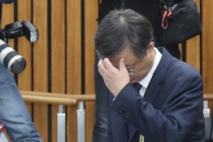 [서울포토] 우병우 전 청와대 민정수석, 국정조사 5차 청문회 출석