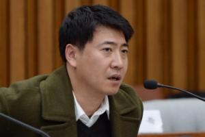 [서울포토] 참고인 노승일씨, 청문회에서 의원들의 질문에 답변