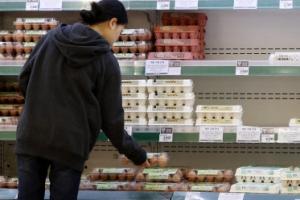 한국 식료품 물가 상승률, 3개월 연속 OECD '톱3'