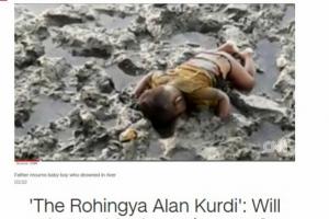 진흙탕서 숨진 '미얀마판 쿠르디'…로힝야 인종 청소의 비극