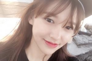 [포토] 우주소녀 성소, 인형미모 자랑하는 셀카 공개