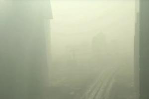 타임랩스로 담아낸 중국 베이징 최악의 스모그