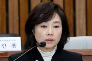 """""""블랙리스트 있냐"""" 이용주 의원 맹공에 조윤선 '난감'"""