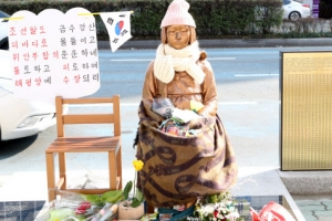 """""""부산 소녀상, 철거하려면 외교부가 하라""""…부산 동구청장 발언"""
