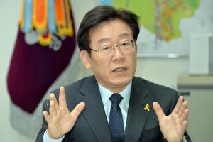 """이재명 성남시장 """"새 정부는 기득권자들과 한판 승부해야, 내가 더 적임자"""""""