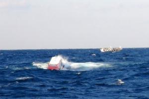 포항 앞바다서 선원 4명 실종…해경 함정 6척, 어선 32척 철야수색