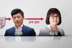 """""""문체부가 만든 문화계 블랙리스트, 최순실에게 보고"""""""