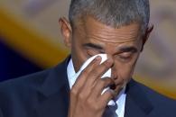"""[영상] """"미셸..."""" 고별연설서 눈물 흘린 오바마 대통…"""