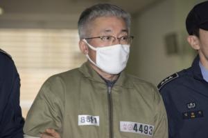 [서울포토] '블랙리스트 작성 혐의' 특검 소환된 김종덕 전 장관