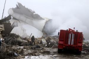 [포토] 키르기스스탄 민가에 터키 화물기 추락…최소 35명 사망
