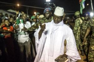 '대선 패배 불복' 감비아 대통령, 국가 비상사태 선포