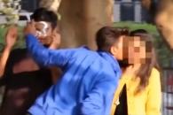 '키스하고 달아나기' 영상 찍은 인도 유튜버 논란