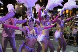 [포토] 화끈한 노출과 섹시한 춤사위… '우루과이 카니발' 댄서들