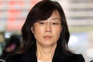 블랙리스트 수사, 조윤선 구속 후 특검 출석…수의 대신 정장 차림 '묵묵부답'(종합…