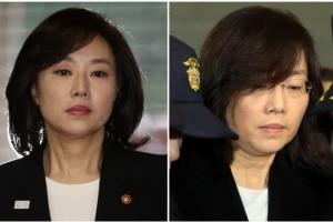 '스타 장관' 조윤선 구속, 특검 소환…3시간 조사 뒤 다시 구치소로(종합)