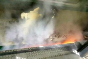 지하철 잠실새내역 진입열차서 불…인명피해 없고 운행 재개