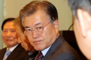 """文 """"공동정부 논의 조금 일러…경선 후 필요시 연대연정 논의"""""""