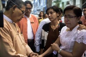아웅산 수치 측근, 미얀마 양곤 공항서 피살