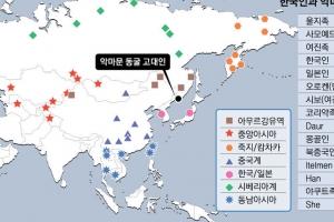 악마문 동굴人+동남아 원주민…현대 한국인, 남방계가 더 우세