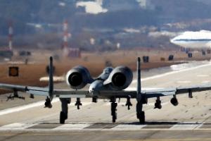 매티스 美국방부 장관 한국 도착…1박2일 일정 돌입
