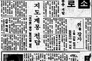 [그때의 사회면] 쥐잡기· 파리잡기/손성진 논설실장