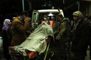 """아프간 대법원 앞 자폭테러로 사상자 50여명…""""폭발로 땅이 흔들렸다"""""""