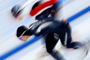 김보름 女3000m 또 한국新… 평창 리허설 '굿스타트'