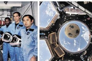 [우주를 보다] 31년 만에 우주로 날아간 '챌린저호의 슬픈 축구공'