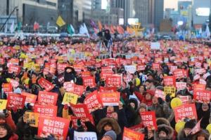 박 대통령 취임 4주년…촛불 vs 맞불 '총동원령'