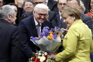 """독일 새 대통령에 슈타인마이어…""""독일이 희망, 용감하게 전진하자"""""""