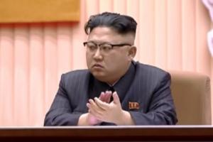 모습 드러낸 김정은… '김정일 생일 중앙보고대회' 참석