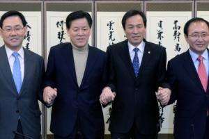 야4당 원내대표, 특검연장 불승인 대책 논의…황교안 탄핵 추진도 논의