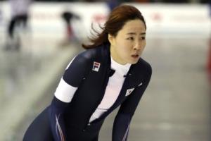 -아시안게임- 빙속여제 이상화, 여자 1,000m 亞기록 넘고도 노메달