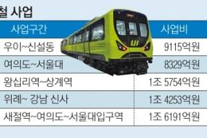 훈풍 탄 경전철… 건설사들의 고민