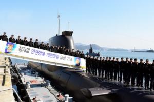 해군 214급 정지함, 세계 최초 10만 마일 무사고 항해