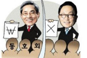 [여의도 카페] 윤종규·박현주 회장 합병 후 사내 동호회 화합의 엇갈린 시선