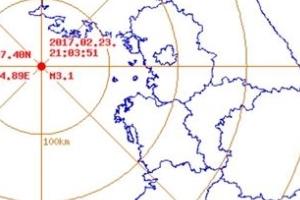 """백령도 인근 해역서 규모 3.1 지진…""""피해는 없어"""""""